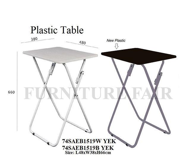 Plastic Table 74SAEB1519W&B YEK