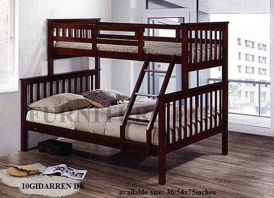 Wooden Bunk Bed 10GIDARREN DK