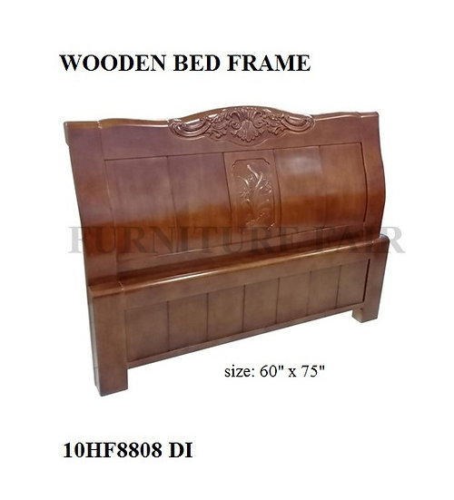 Wooden Bed Frame Queen Size 10HF8808 DI
