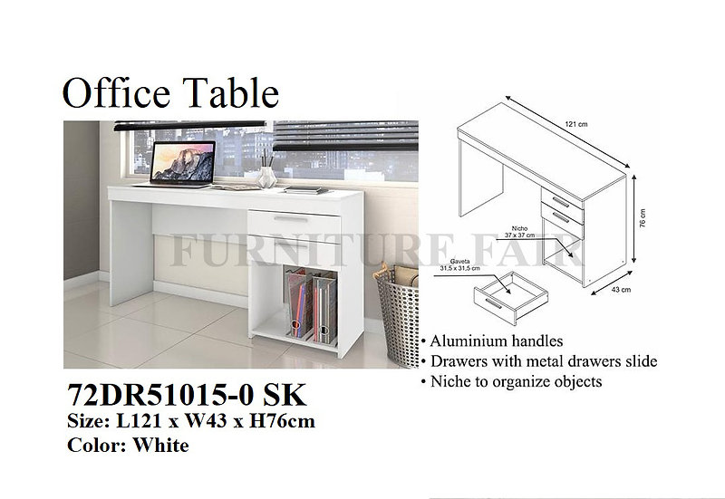 Office Table 72DR1015-0 SK