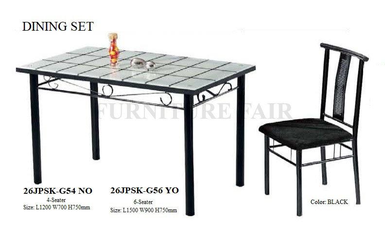Dining Set 25JPSK-G54 NO