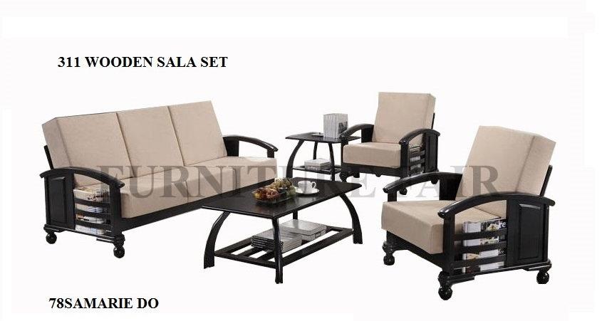 Wooden Sala Set 78SAMARIE DO