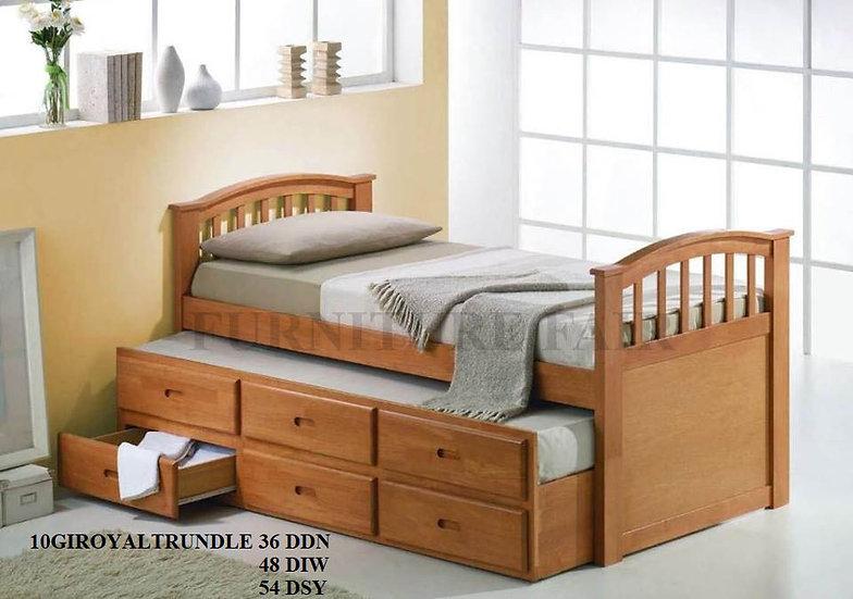 Bedframe 10GIROYALTRUNDLE 36DDN 48DIW 54DSY