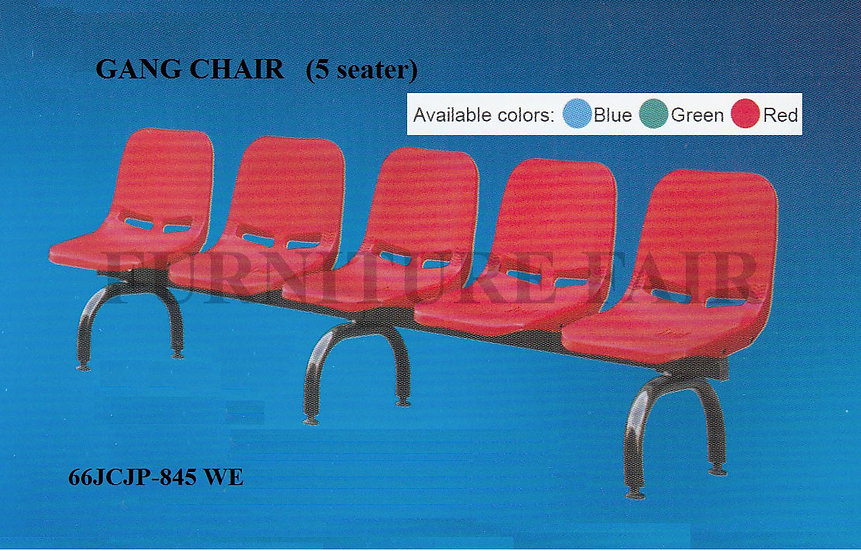 5 Seater Gangchair 66JCJP845 WE