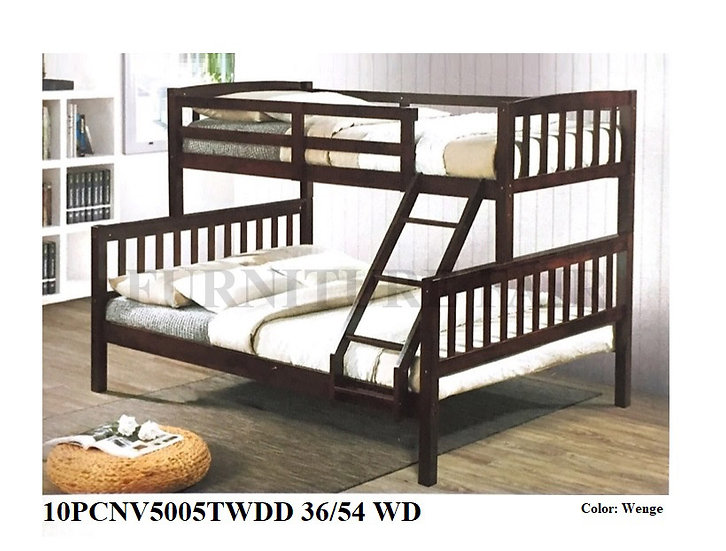 Wooden Bedframe 10PCNV5005TWDD 36/54 WD