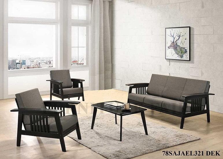 Sofa Set 3-2-1 78SAJAEL321 DEK
