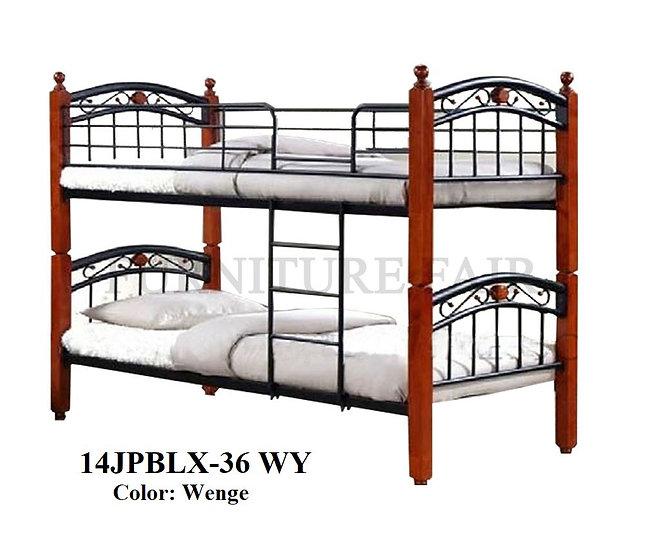 Wooden Post Double Deck 14JPBLX-36 WY