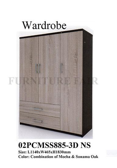 Wardrobe 02PCMSS885-3D NS