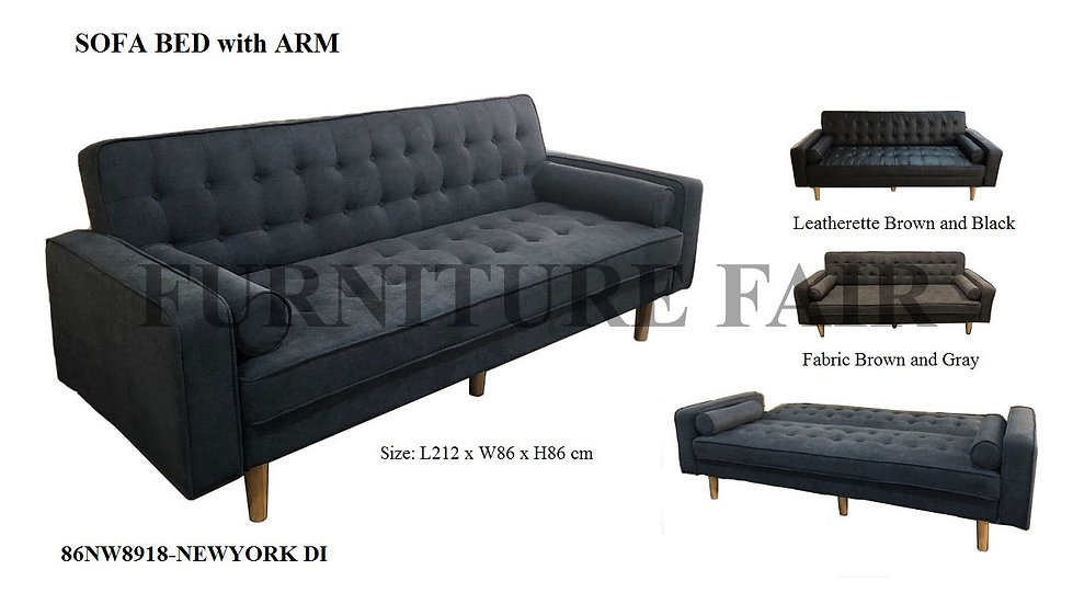 Sofa Bed with Arm 86NW8918_NEWYORK DI