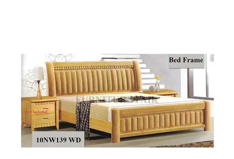Wooden Bed Frame 10NW139 WD