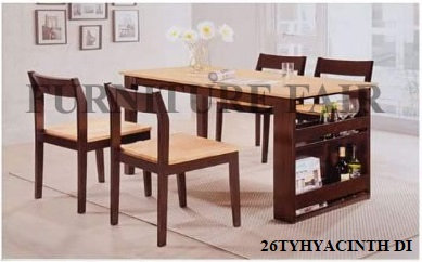 Dining Set 26TYHYACINTH DIW