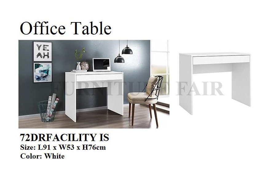 Office Table 72DRFACILITY IS