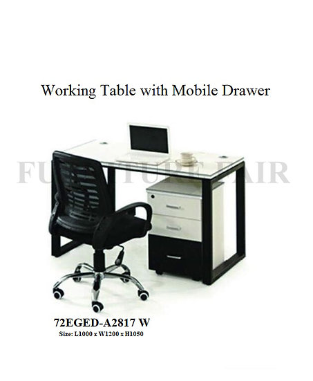 Working Table 72EGED-A2817 W