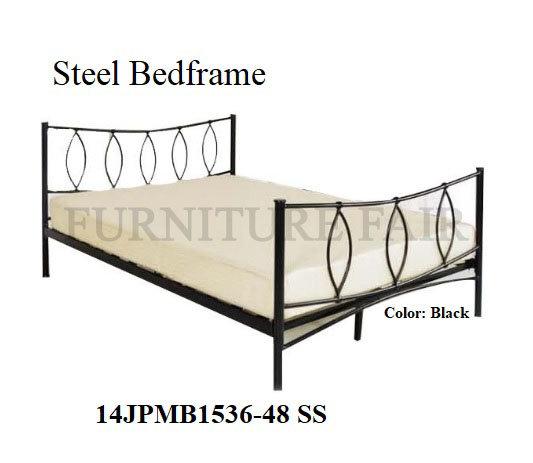Steel Bed 14JPMB1536-48 SS