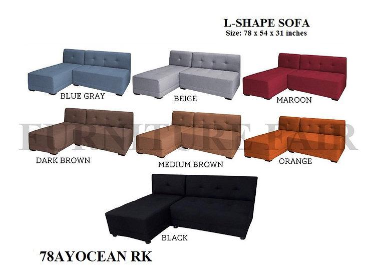 L-Shape Sofa 78AYOCEAN RK