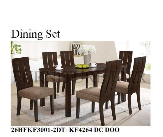 Dining Set 26HFKF3001-2DT+KF426DC DOO
