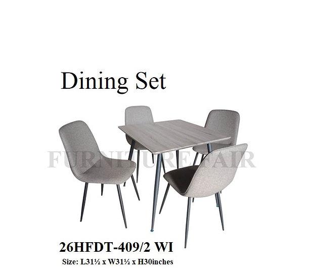 Dining Set 26HFDT-409/2 WI