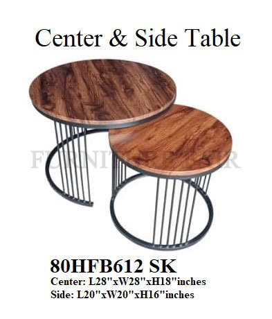 Center & Side Table 80HFB612 SK