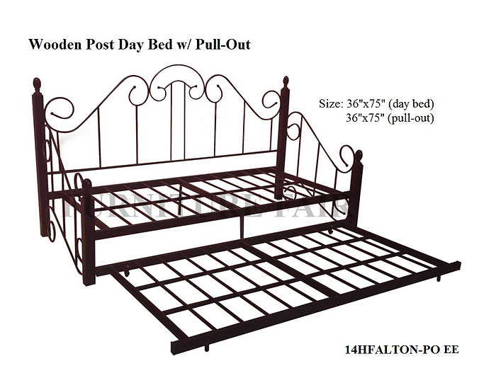 Day Bed w/ Pull-out 14HFALTON-PO EE