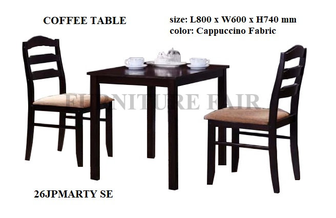 Dining Set 2 Seater 26JPMARTY NE