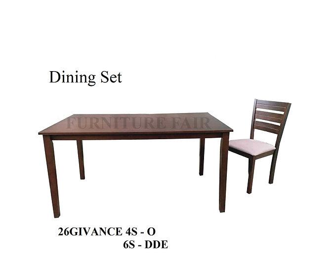 Dining Set 26GIVANCE