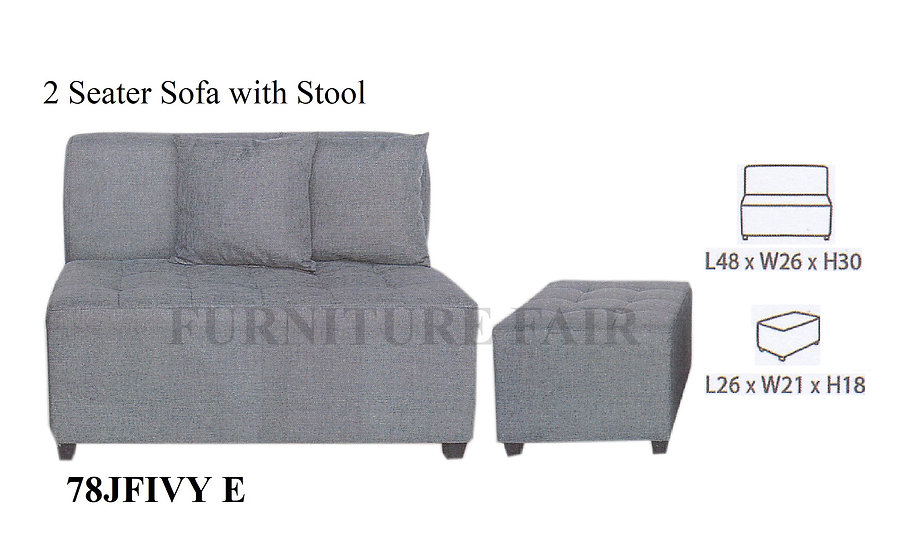 2 Seater Sofa 78JFIVY E