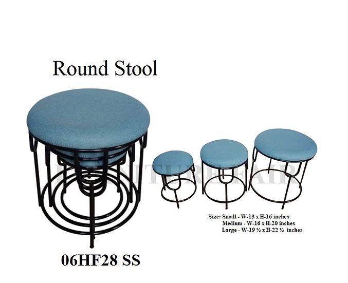 Round Stool 06HF28 SS
