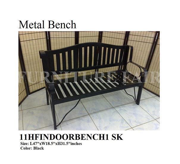 Metal Bench 11HFINDOORBENCH1 SK