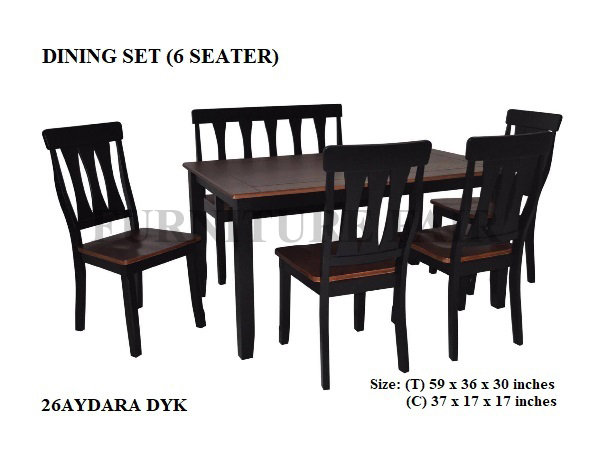 Dining Set 26AYDARA_DO