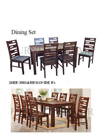 Dining Set 26HF-3001&HF4119 IDE