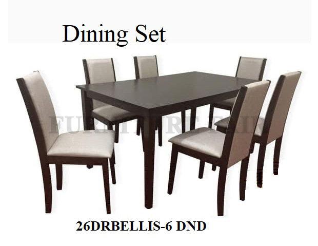 Dining Set 26DRBELLIS-6 DND