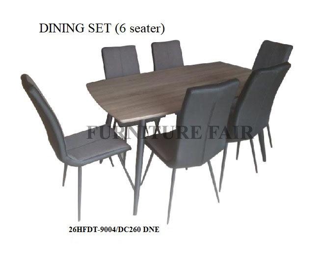 Dining Set 26HFDT-9004/DC260 DNE