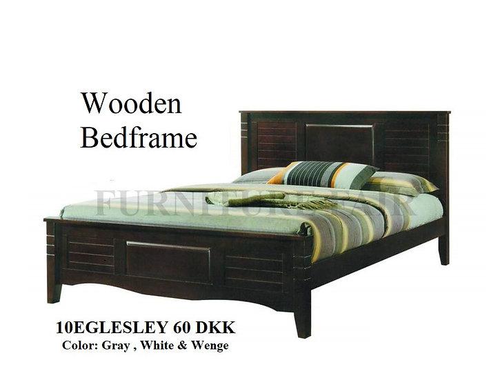 Wooden Bedframe 10EGLESLEY 60 DKK