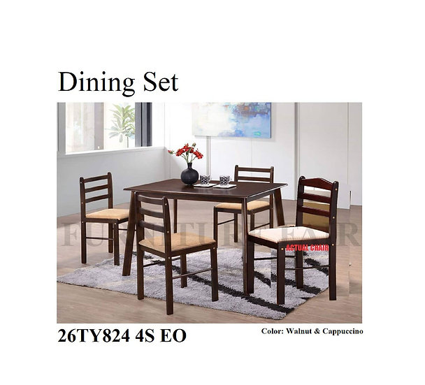 Dining Set 26TY824 4S EO