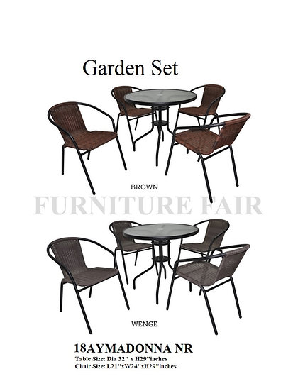 Garden Set 18AYMADONNA NR