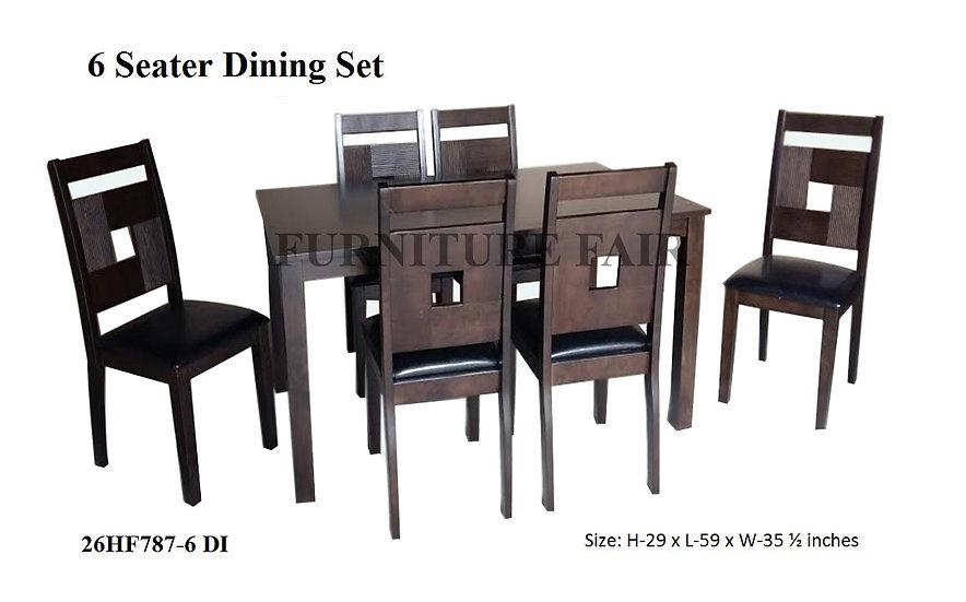 DINNING SET 26HF787-6 DI