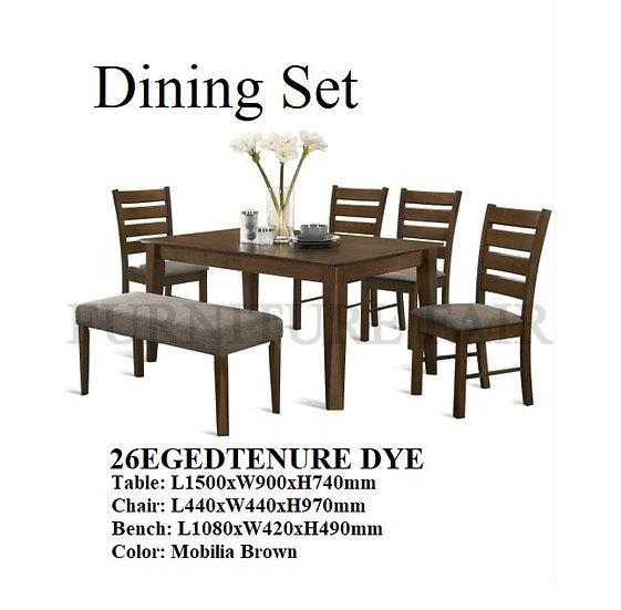 Dining Set 26EGEDTENURE DYE