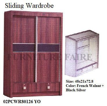 Sliding Wardrobe 02PCWR80126 YO