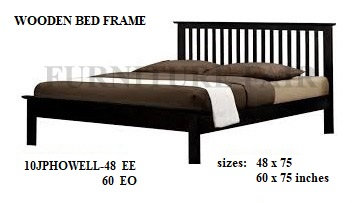 Bed Frame Size 48x75 10JPHOWELL-48 YK