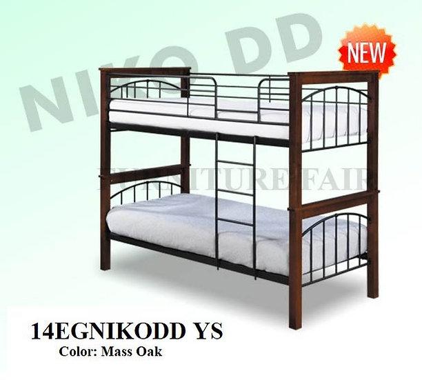 Wooden Post Double Deck 14EGNIKODD YS
