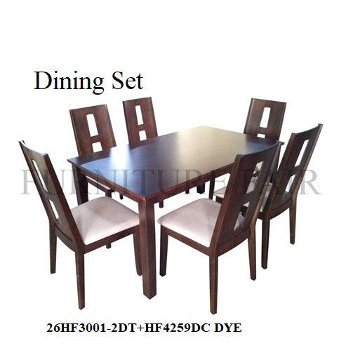 Dining Set 26HF3001-2DT+HF4259DC DYE