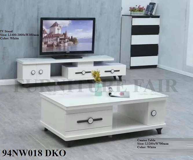 TV Stand & Center Table 94NW018 DKO