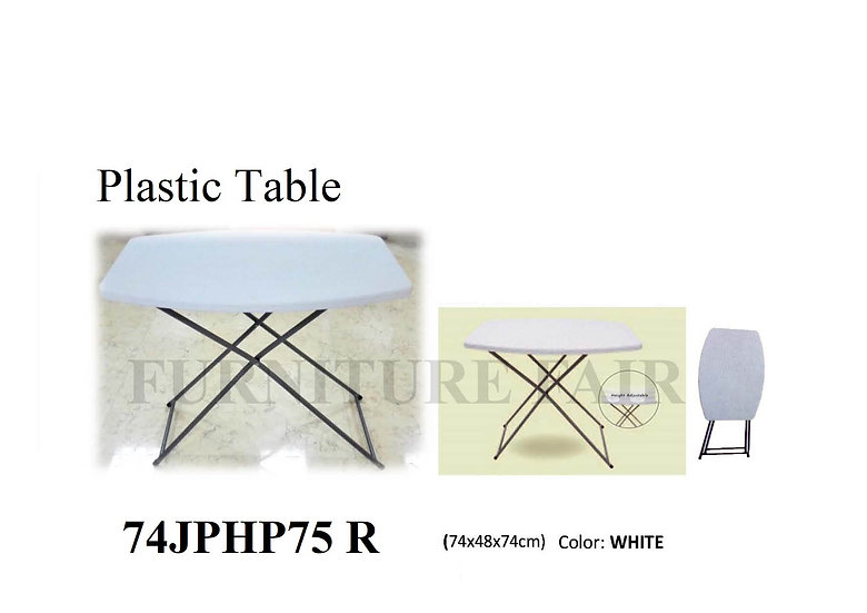 Plastic Table 74JPHP75 R