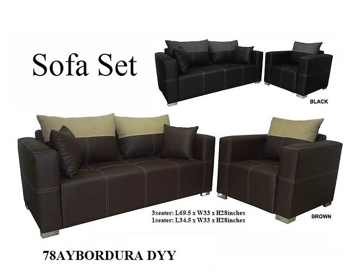 Sofa Set 78AYBORDURA DYY