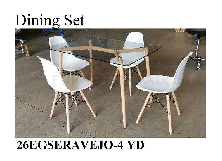 Dining Set 26EGSERAVEJO-4 YD