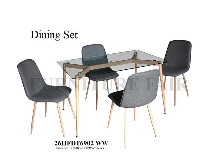 Dining Set 26HFDT6902 WW