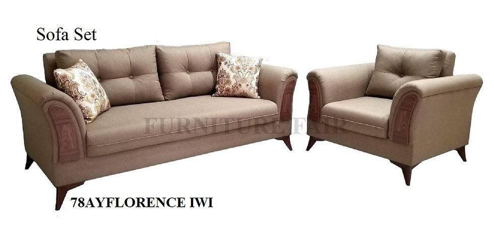 Sofa Set 78AYFLORENCE IWI