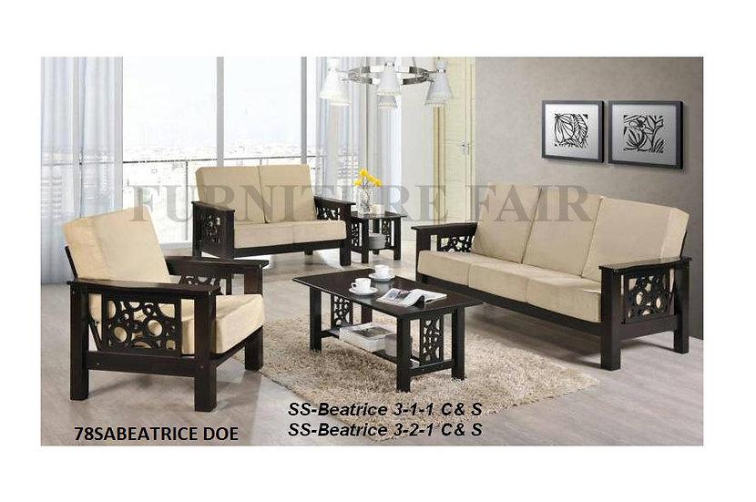 Wooden Sala 311 Set 78SABEATRICE_DOE