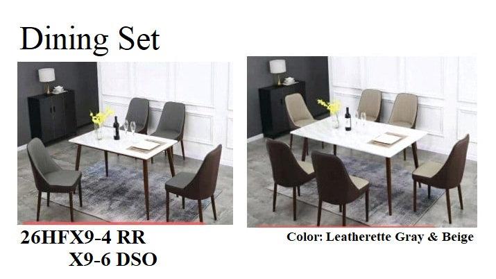 Dining Set 26HFX9-4 RR 6DSO