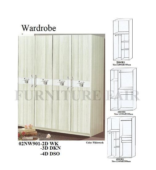 Wardrobe 02NW901-2D WK